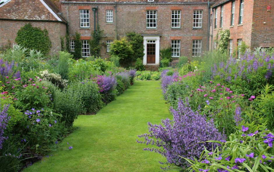 Bramdean House Hampshire England 0614 Garten Lamberty